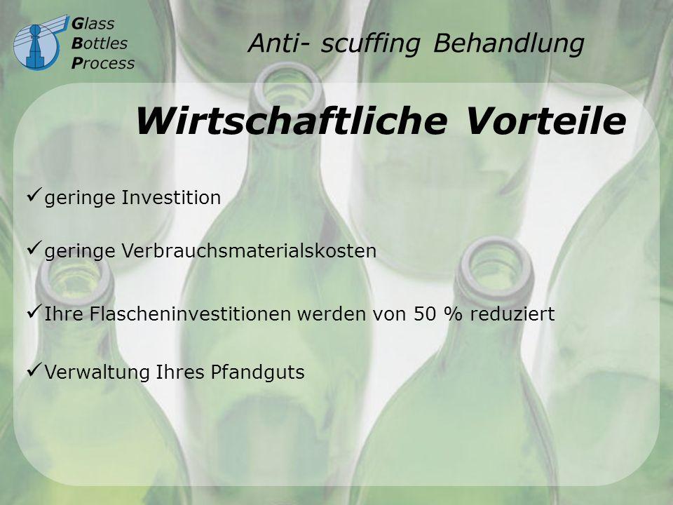 Anti- scuffing Behandlung