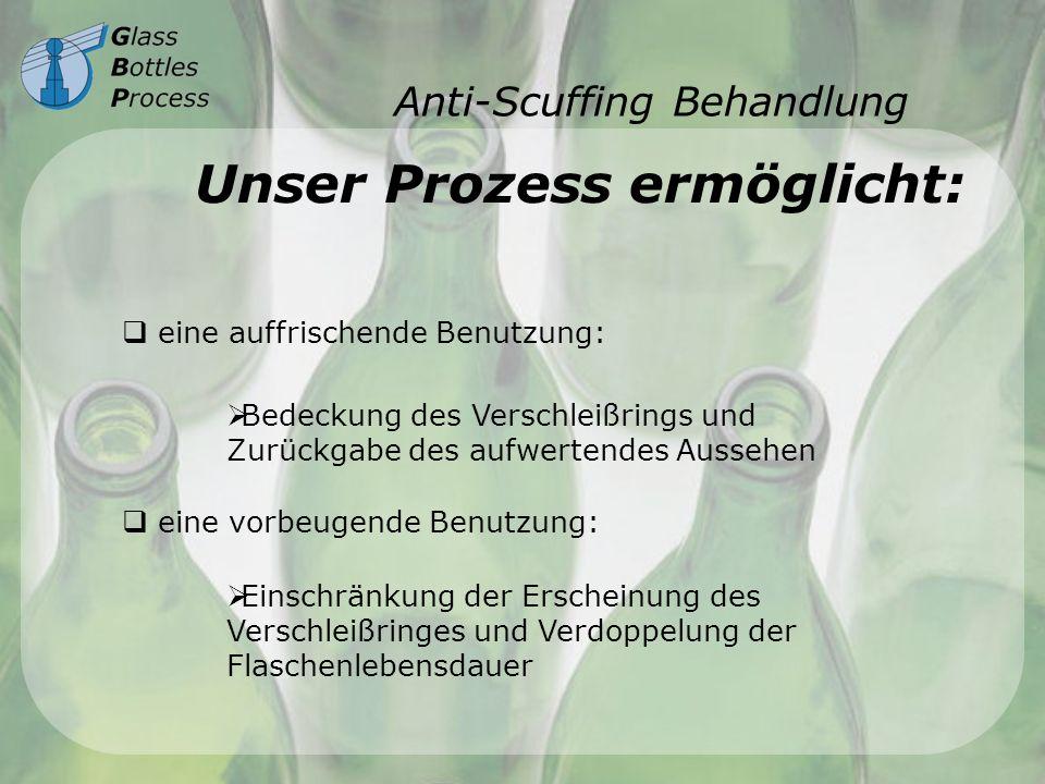 Anti-Scuffing Behandlung
