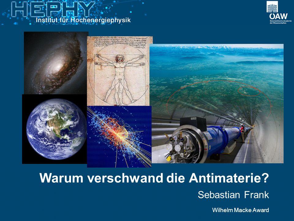 Warum verschwand die Antimaterie