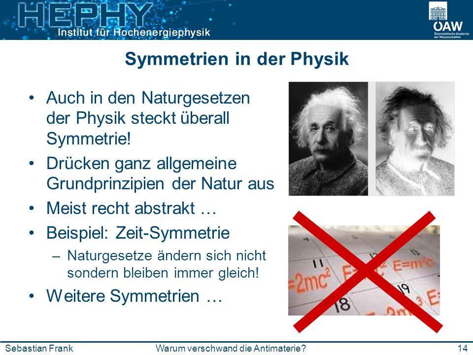 Symmetrien in der Physik