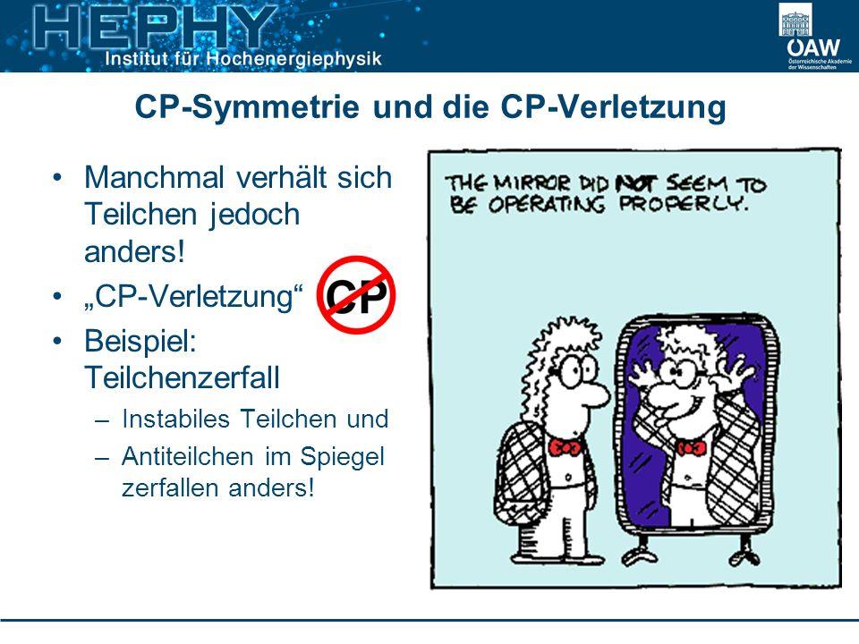 CP-Symmetrie und die CP-Verletzung