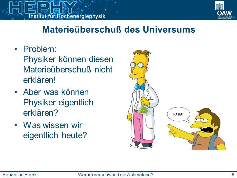 Materieüberschuß des Universums