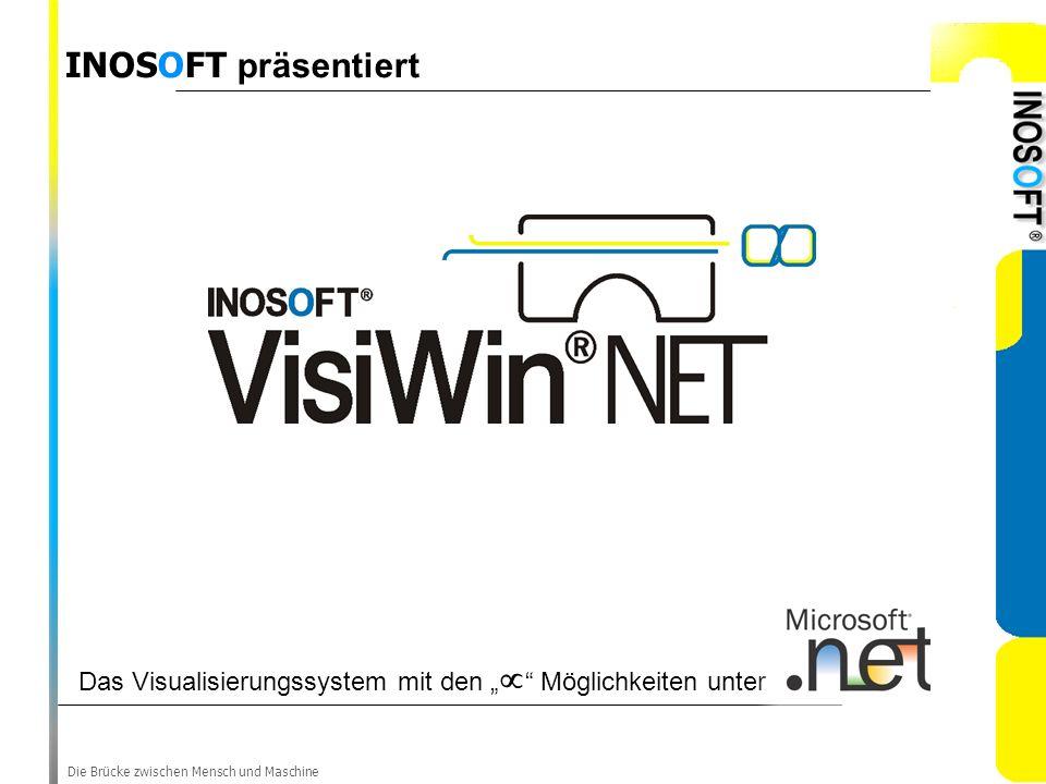 """INOSOFT präsentiert Das Visualisierungssystem mit den """" Möglichkeiten unter."""