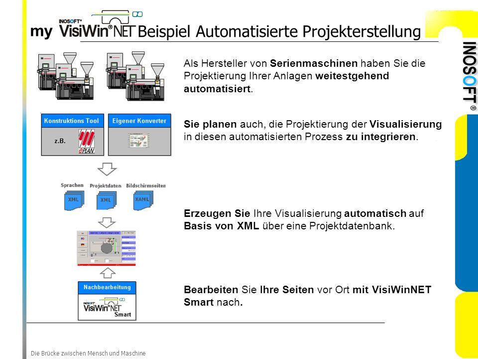 Beispiel Automatisierte Projekterstellung