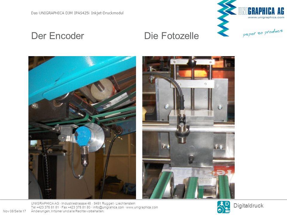 Der Encoder Die Fotozelle