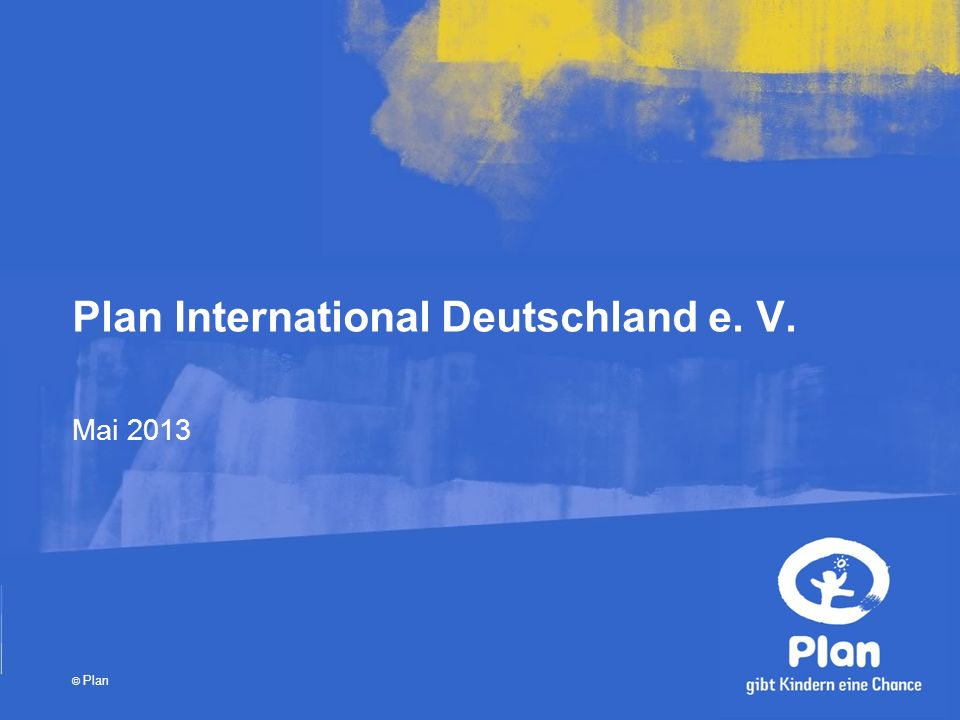 Plan International Deutschland e. V.