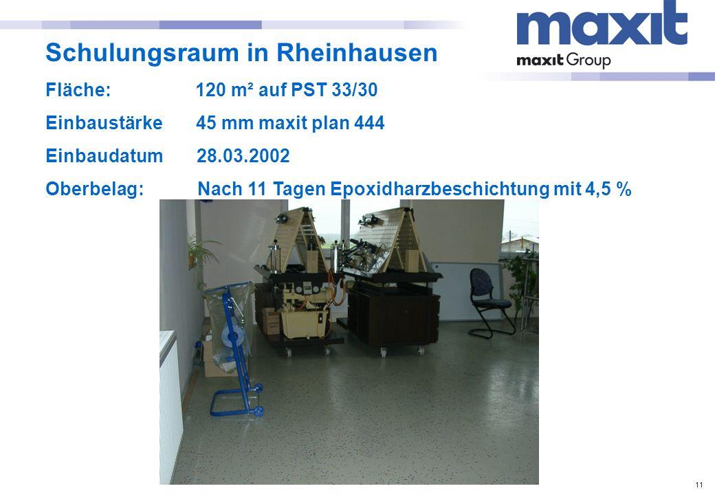 Schulungsraum in Rheinhausen