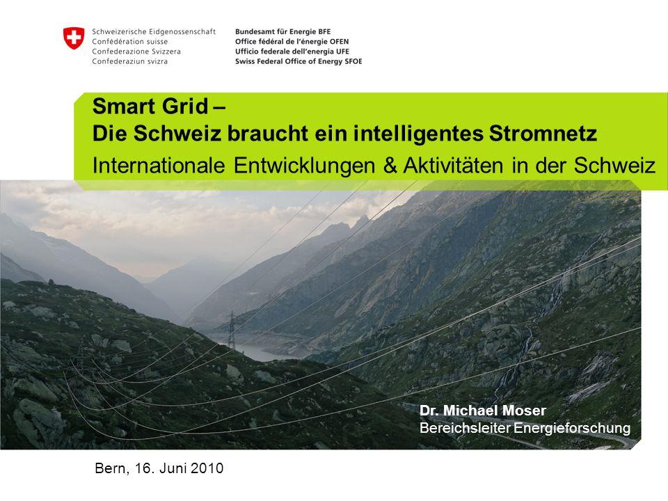 Smart Grid – Die Schweiz braucht ein intelligentes Stromnetz