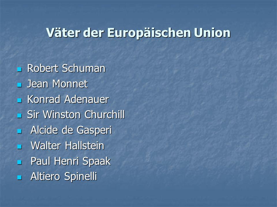 Väter der Europäischen Union