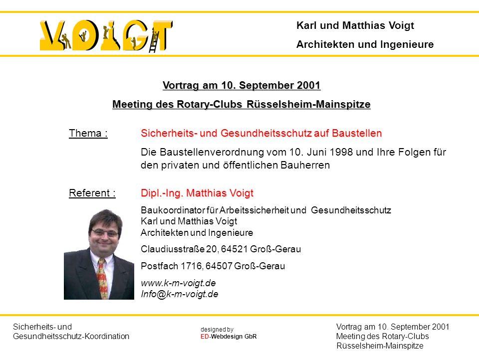 Meeting des Rotary-Clubs Rüsselsheim-Mainspitze