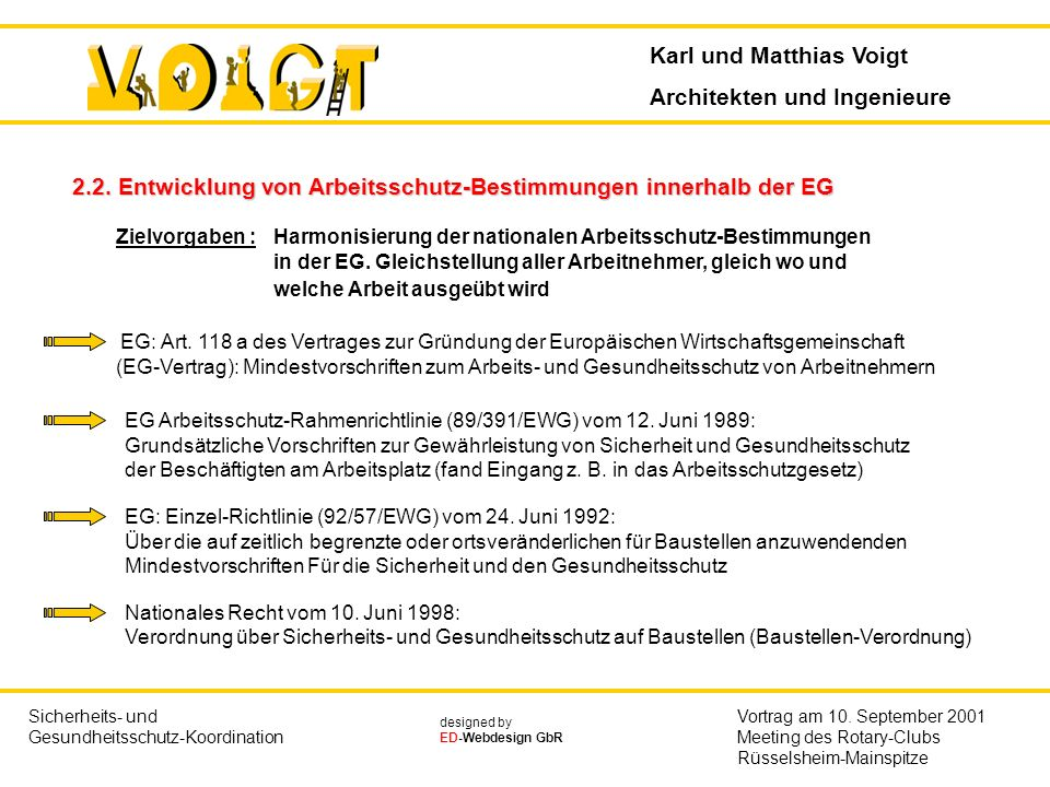 Karl und Matthias Voigt Architekten und Ingenieure