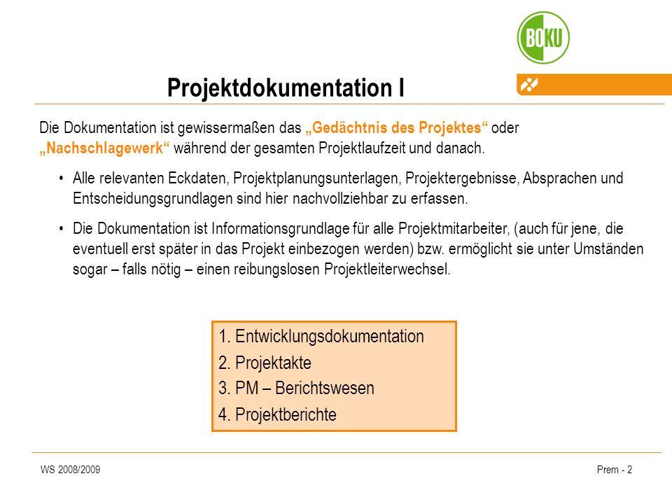 Projektdokumentation I