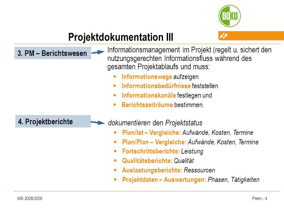 Projektdokumentation III