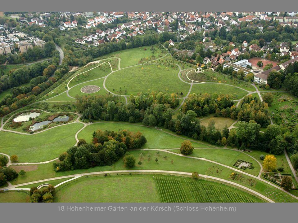 18 Hohenheimer Gärten an der Körsch (Schloss Hohenheim)