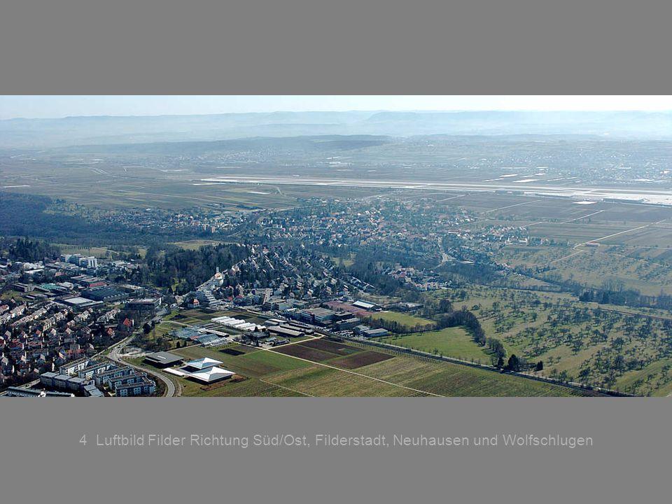 4 Luftbild Filder Richtung Süd/Ost, Filderstadt, Neuhausen und Wolfschlugen
