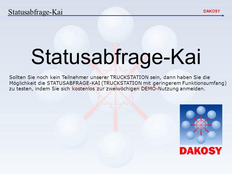Statusabfrage-Kai Statusabfrage-Kai