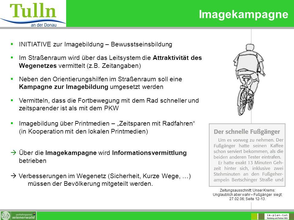 Imagekampagne INITIATIVE zur Imagebildung – Bewusstseinsbildung