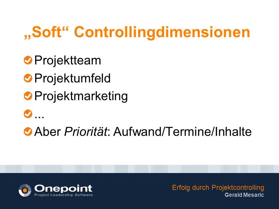 """""""Soft Controllingdimensionen"""