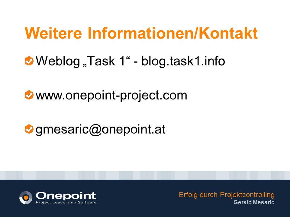 Weitere Informationen/Kontakt