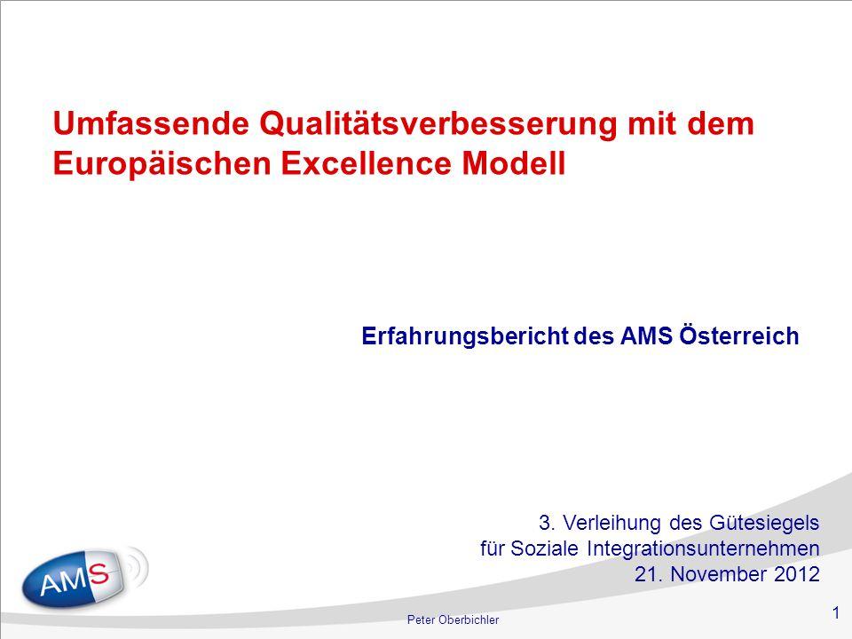 Umfassende Qualitätsverbesserung mit dem Europäischen Excellence Modell