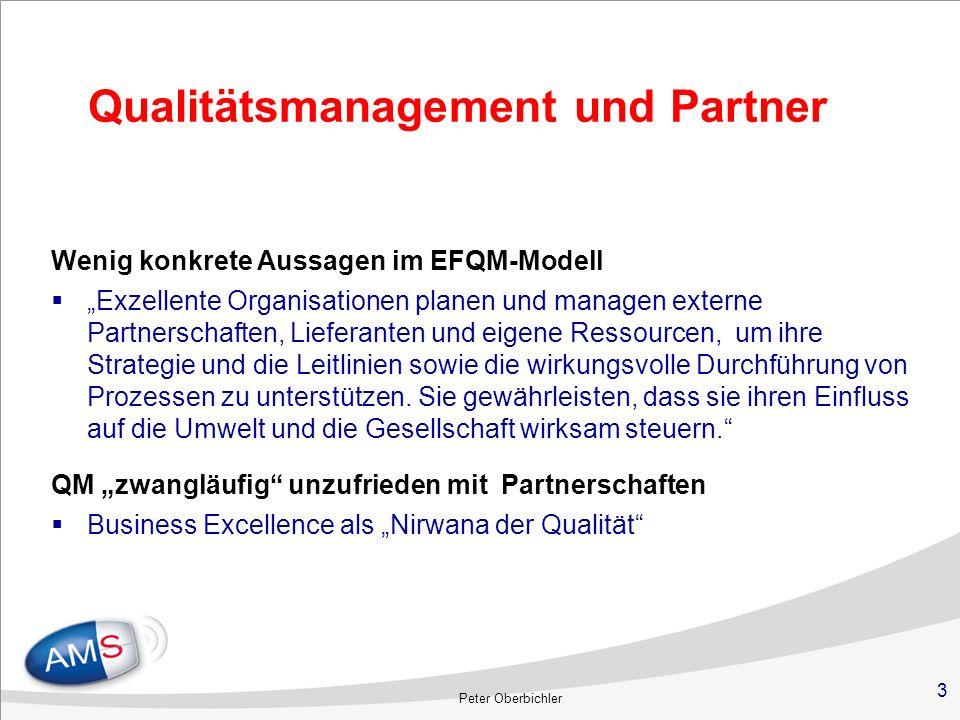 Qualitätsmanagement und Partner