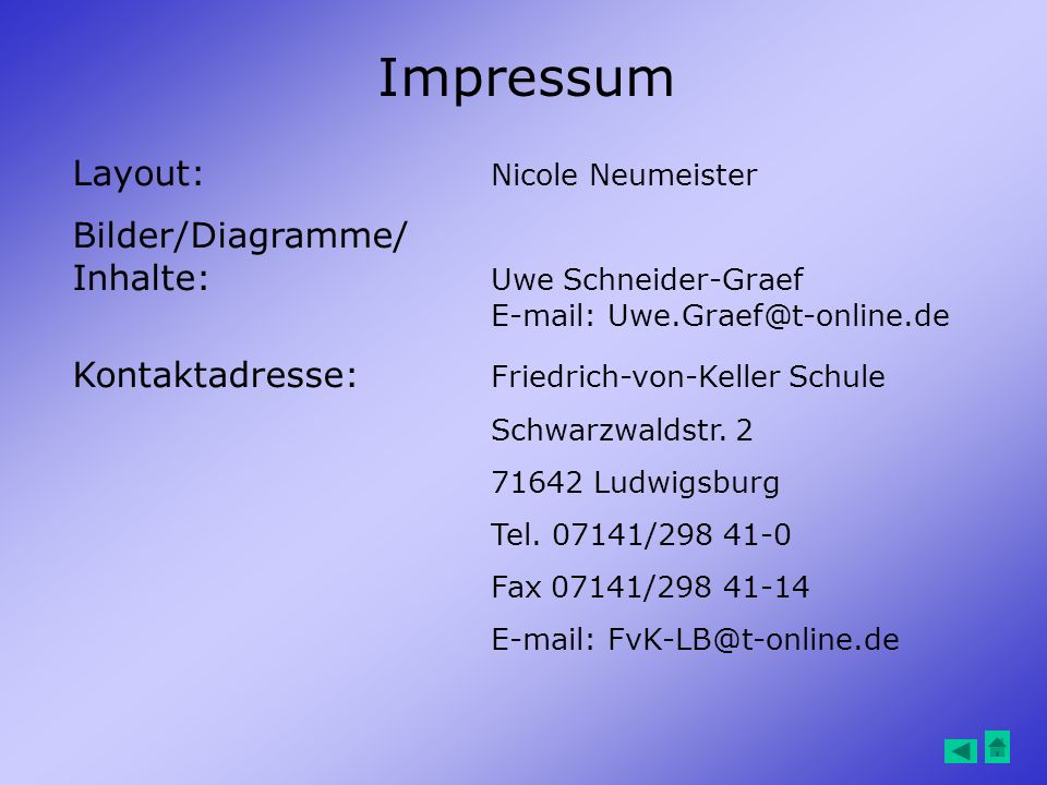 Impressum Layout: Nicole Neumeister