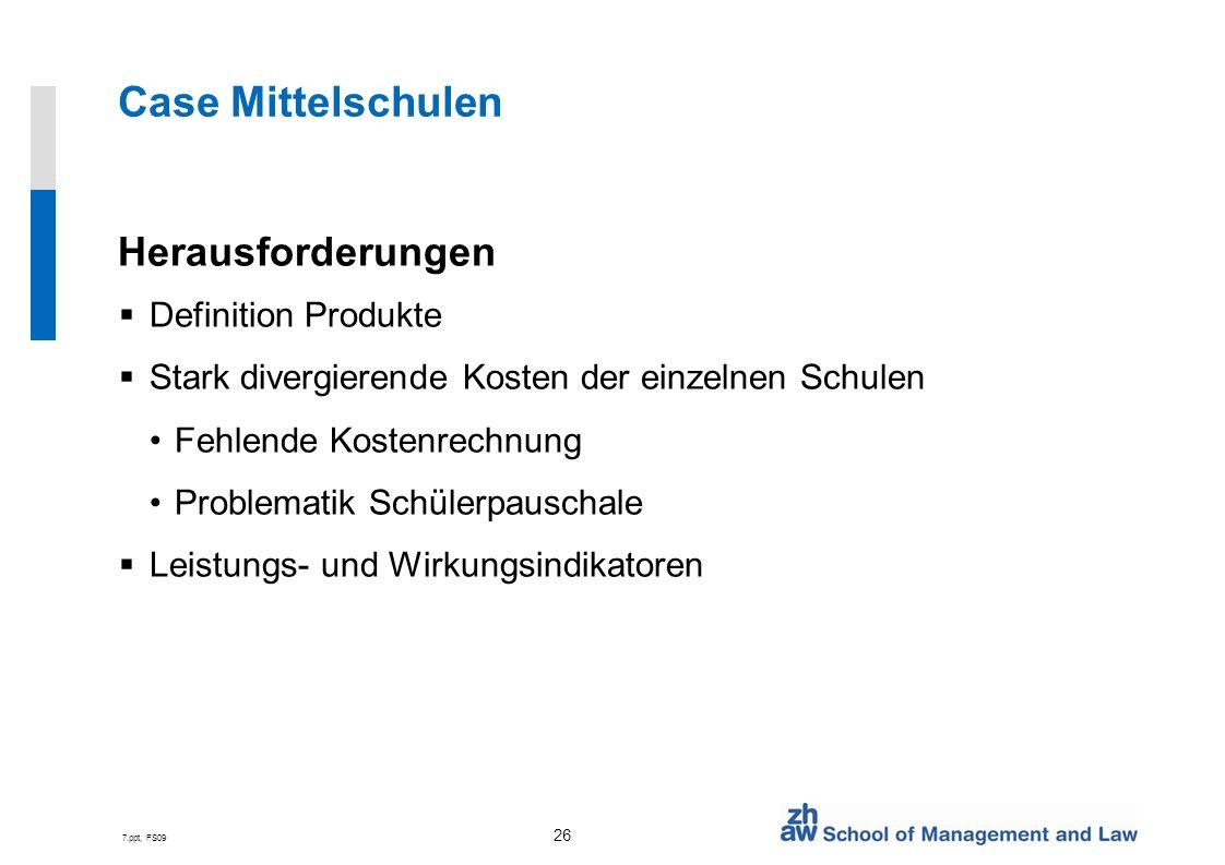 Case Mittelschulen Herausforderungen Definition Produkte