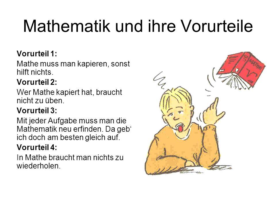 Mathematik und ihre Vorurteile