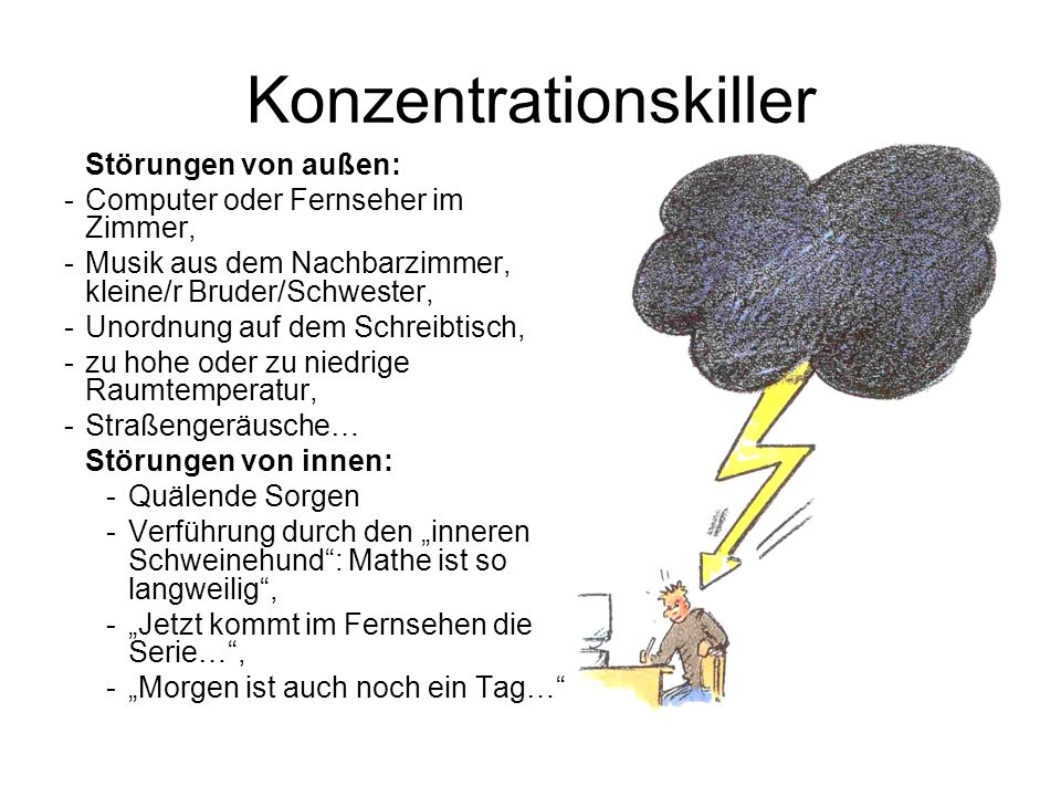 Konzentrationskiller