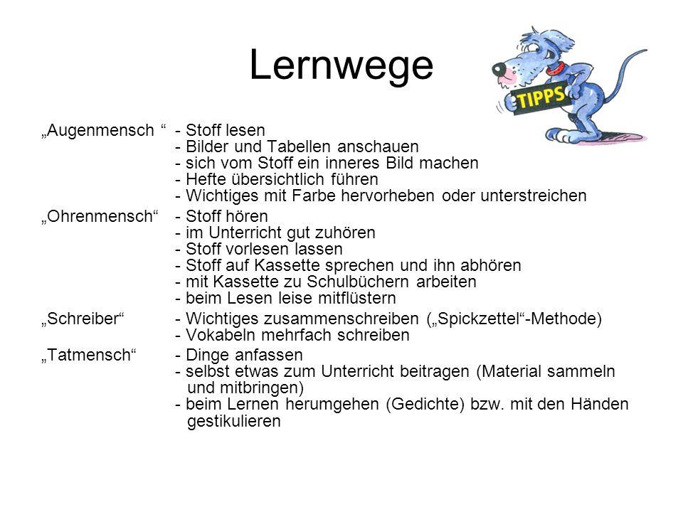 Lernwege