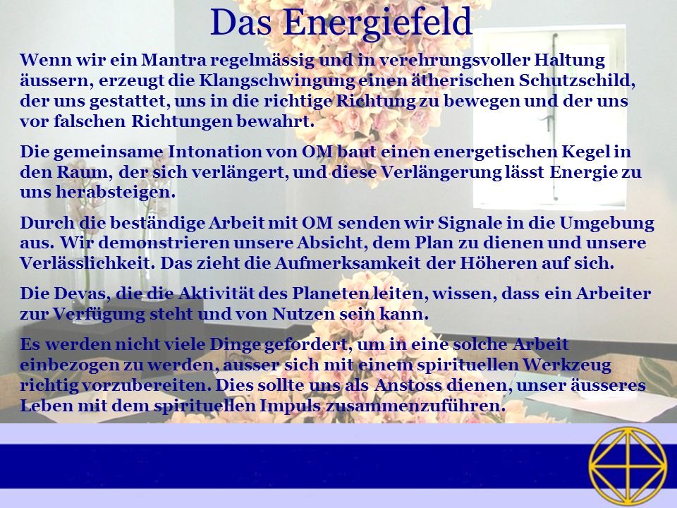 Das Energiefeld