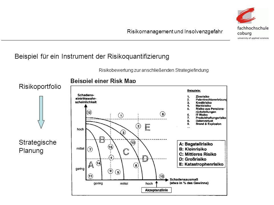 Beispiel für ein Instrument der Risikoquantifizierung