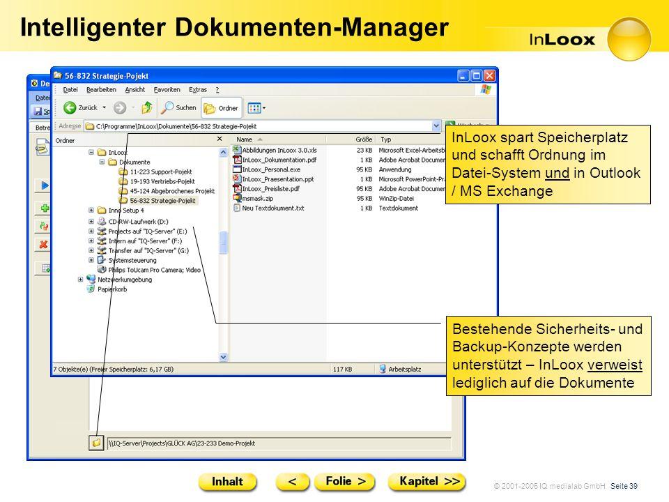 Intelligenter Dokumenten-Manager