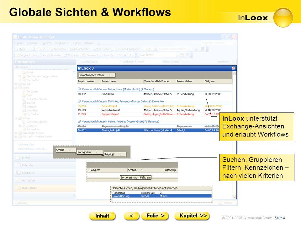 Globale Sichten & Workflows