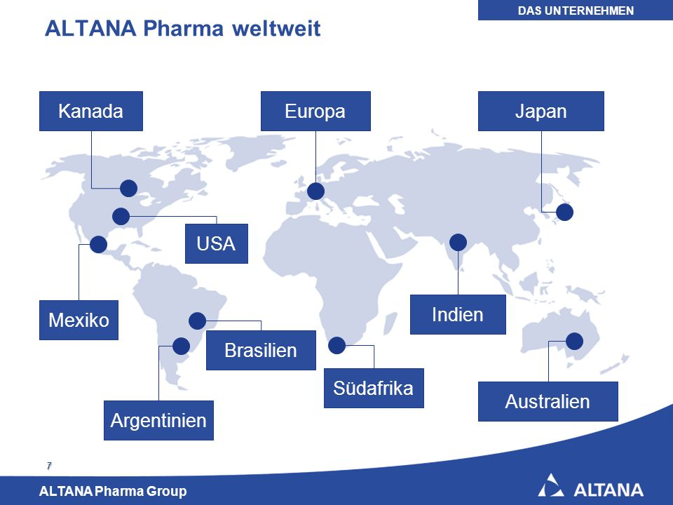 ALTANA Pharma weltweit
