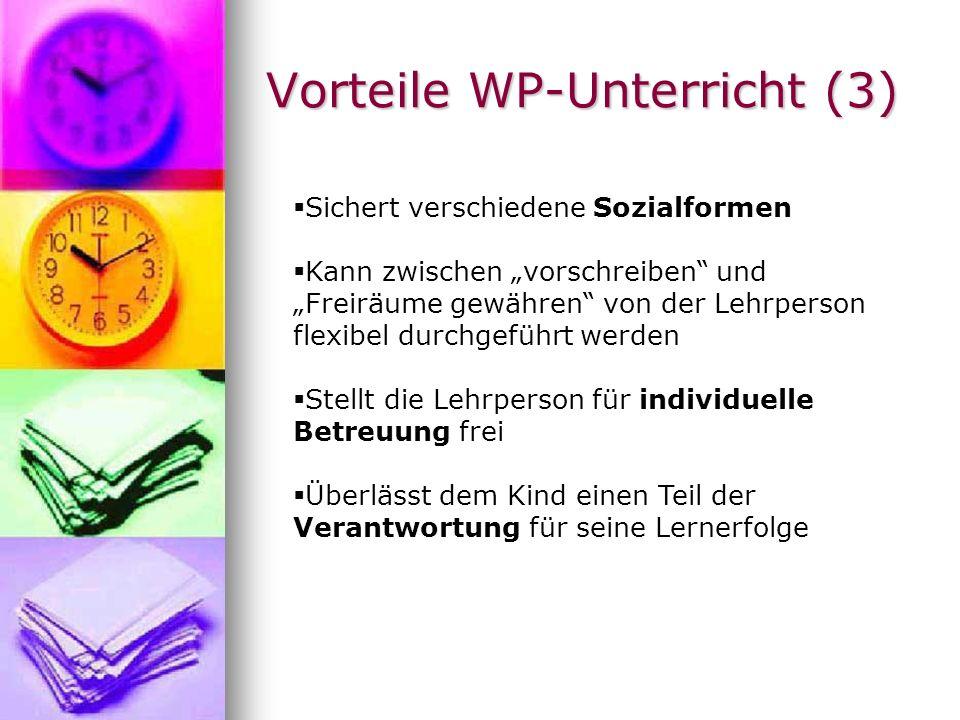 Vorteile WP-Unterricht (3)