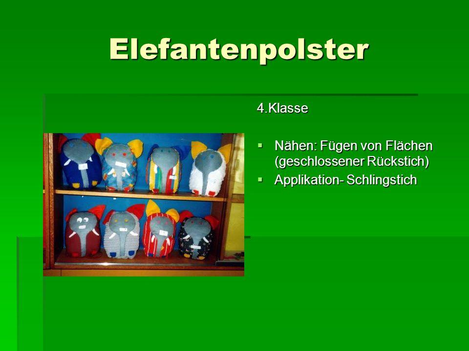Elefantenpolster 4.Klasse