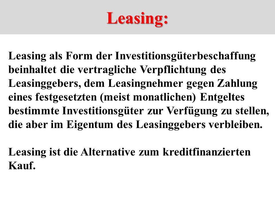 Leasing:
