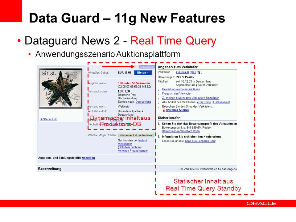 Data Guard – 11g New Features
