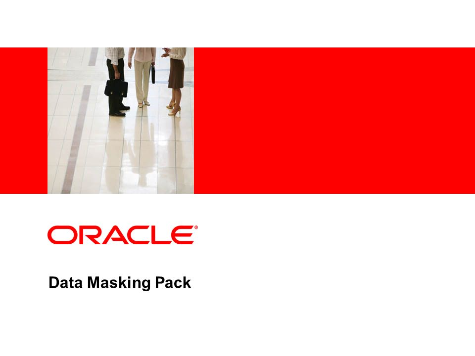 Data Masking Pack