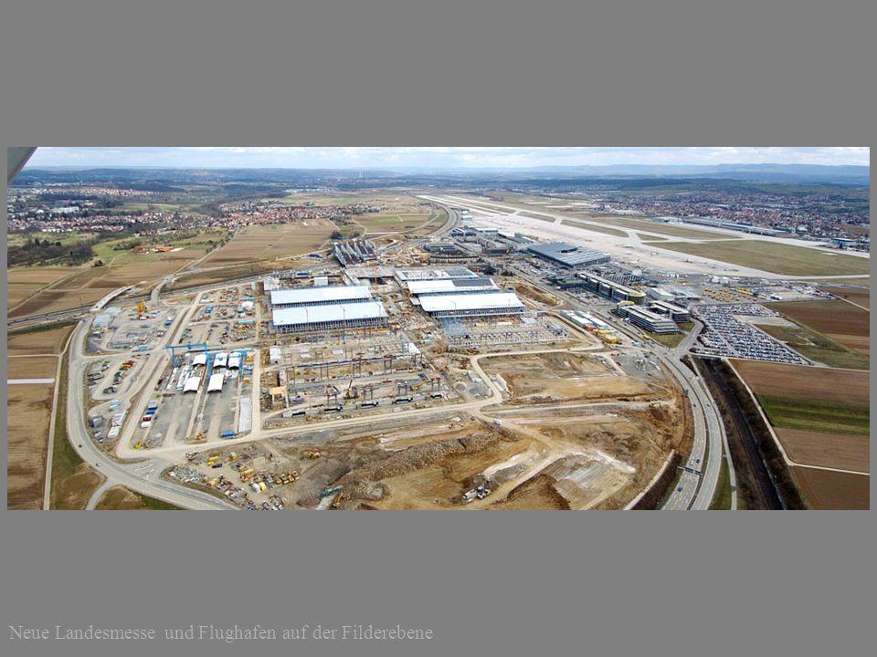 Neue Landesmesse und Flughafen auf der Filderebene