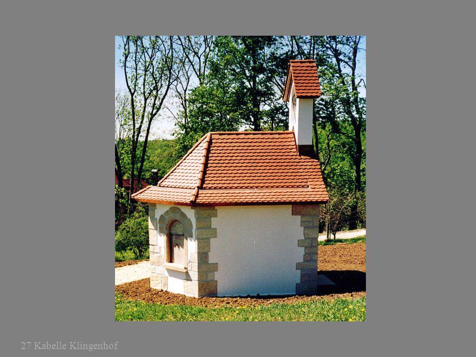 27 Kabelle Klingenhof