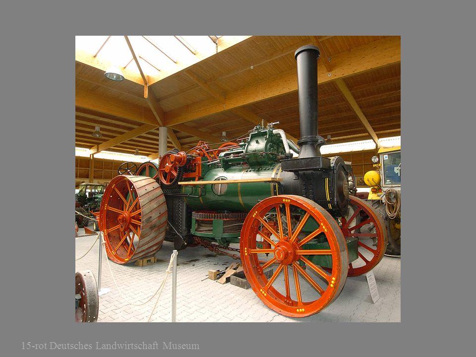 15-rot Deutsches Landwirtschaft Museum