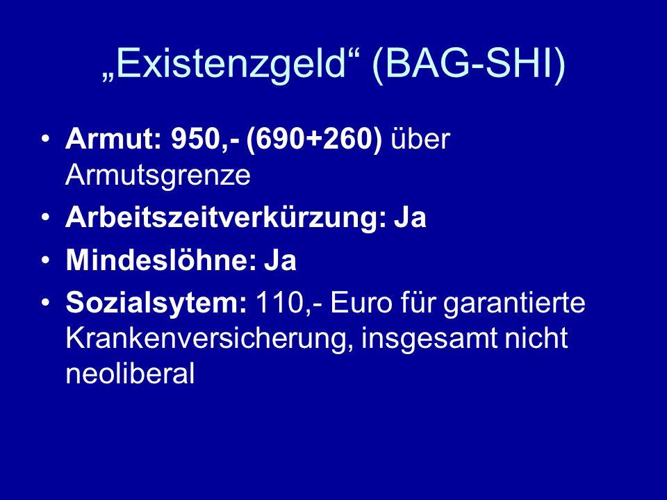 """""""Existenzgeld (BAG-SHI)"""