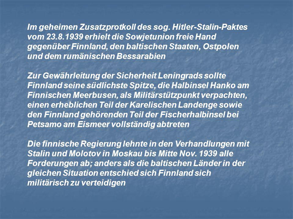 Im geheimen Zusatzprotkoll des sog. Hitler-Stalin-Paktes vom 23. 8