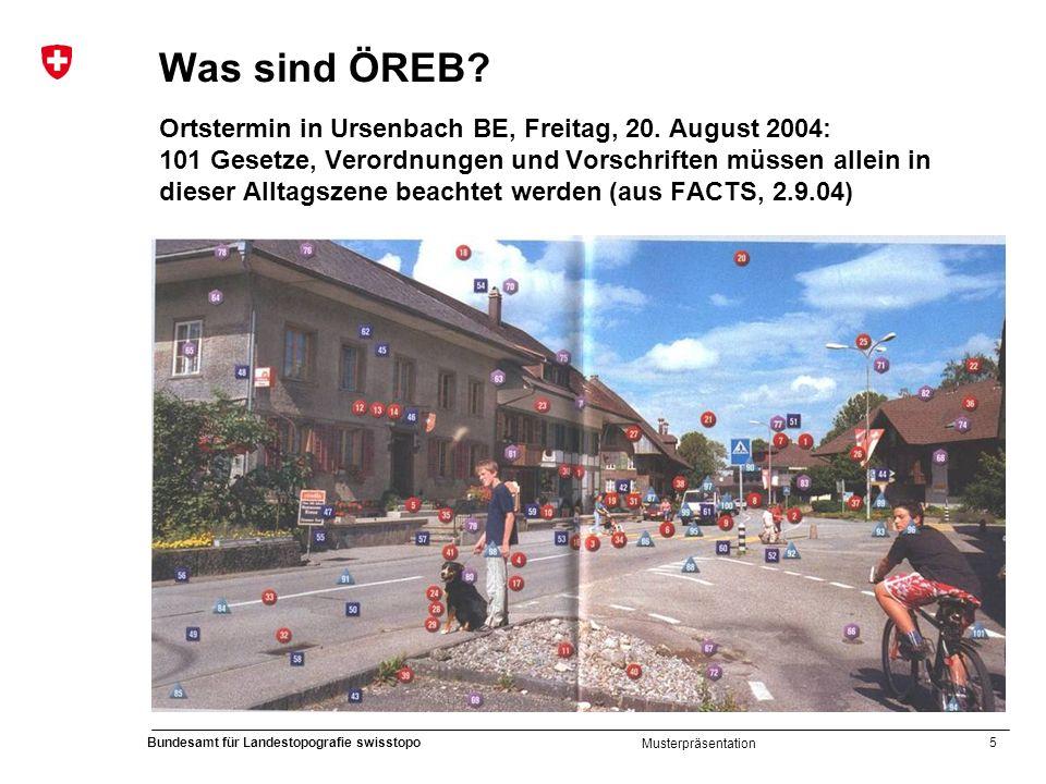 Was sind ÖREB. Ortstermin in Ursenbach BE, Freitag, 20