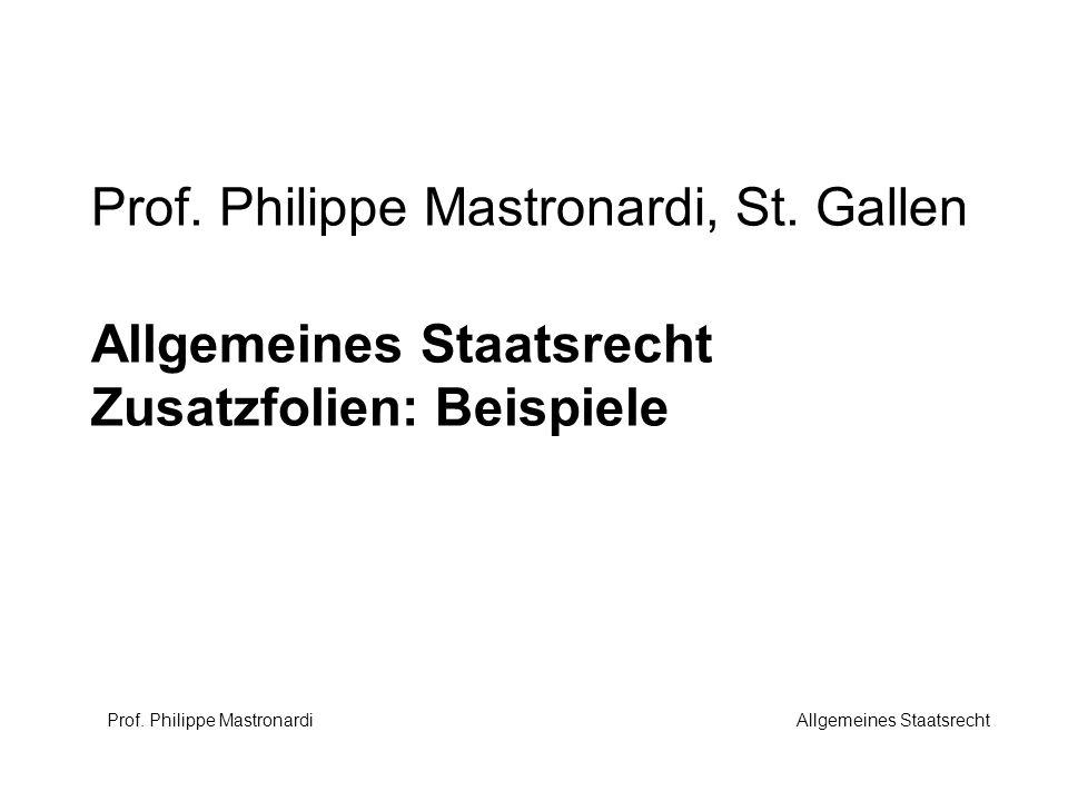 Prof. Philippe Mastronardi, St