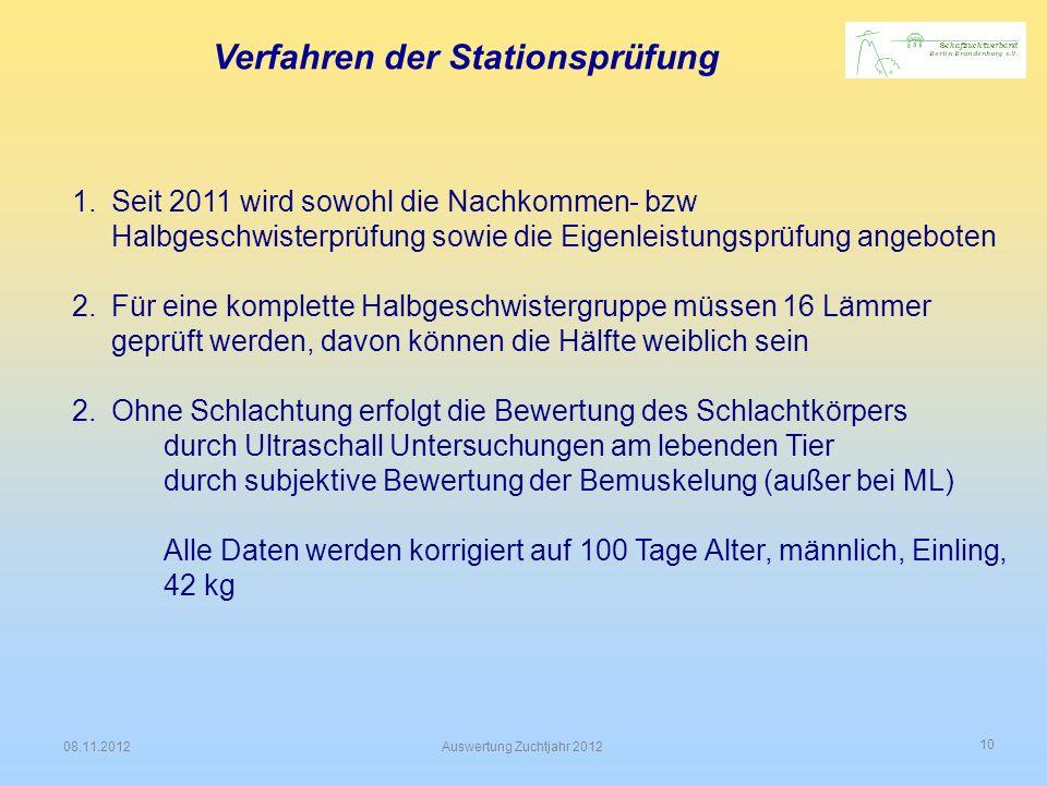 Verfahren der Stationsprüfung