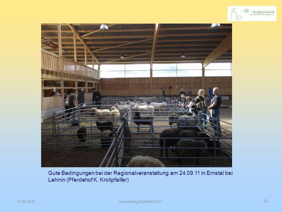 Gute Bedingungen bei der Regionalveranstaltung am 24. 09