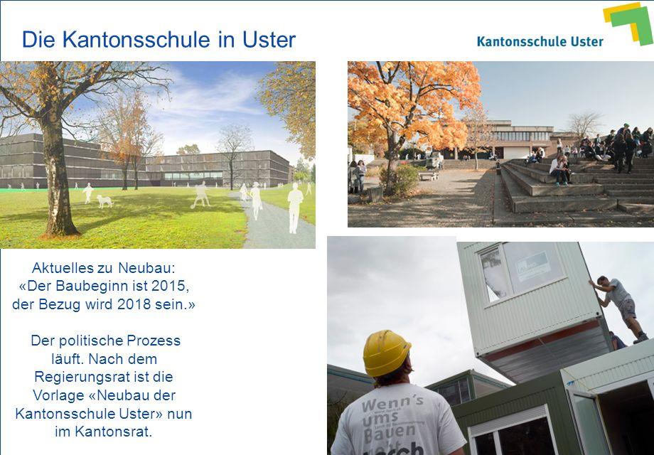 Die Kantonsschule in Uster